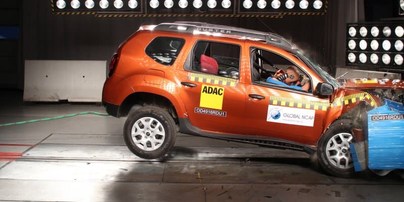 Renault Duster Gets Zero-Star Safety Rating from Global NCAP