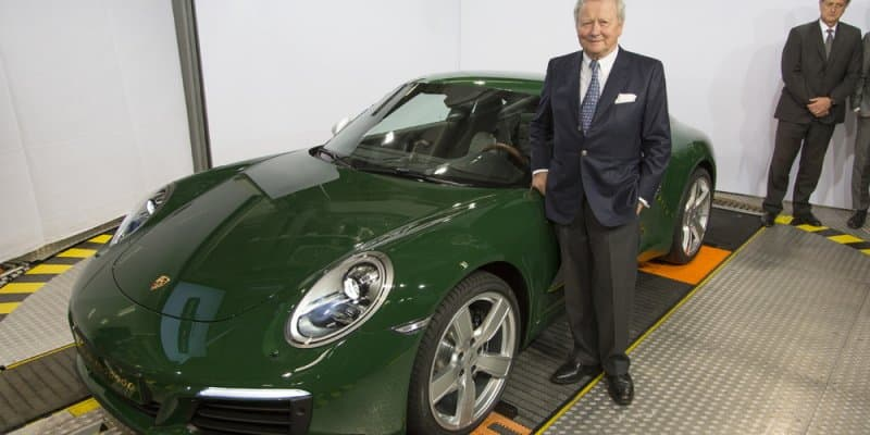 One-Millionth Porsche 911 Rolled Out