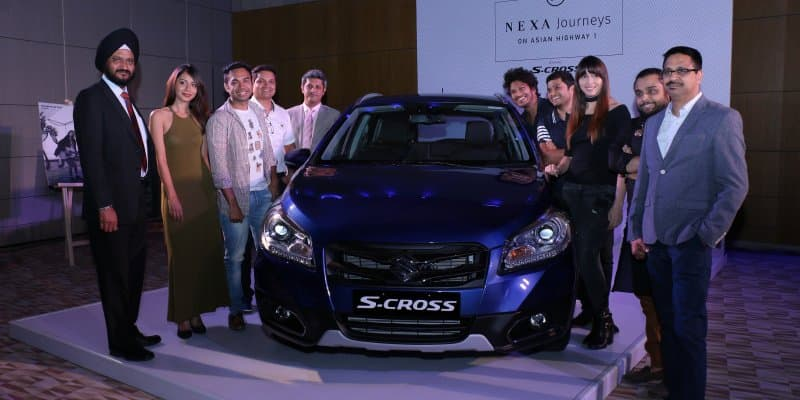Maruti S-Cross Journey of Delhi to Bangkok to premiere on May 21, 2017