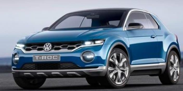 Camouflaged Volkswagen T-ROC compact crossover spotted testing in China