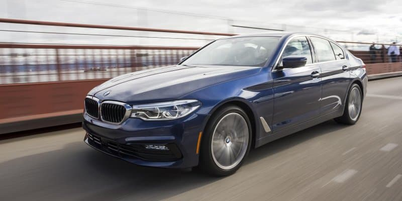 2017 BMW 5 Series Named as Top Safety Pick + by IIHS