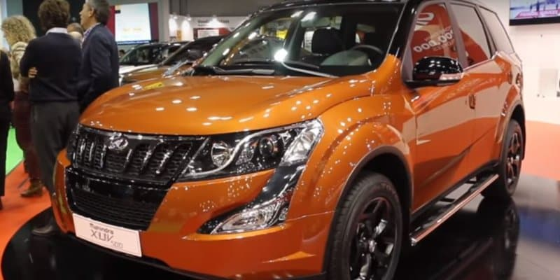 Mahindra XUV500 Special Edition Revealed at 2017 Automobile Barcelona
