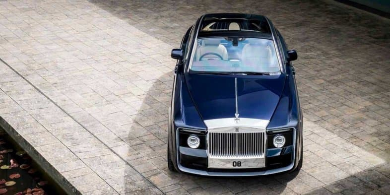 Video - Rolls-Royce bespoke 'Sweptail' unveiled