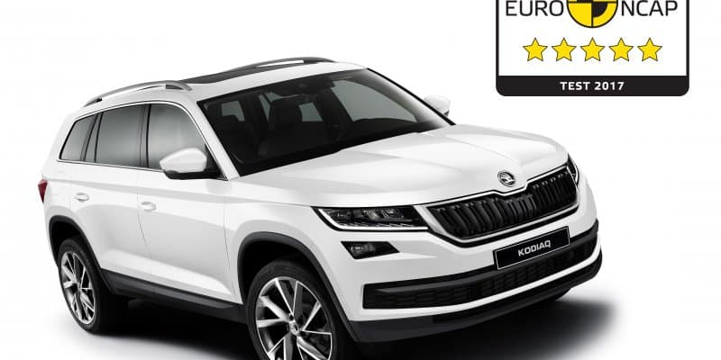 India-bound Skoda Kodiaq Gets 5-Star Safety Rating from Euro NCAP