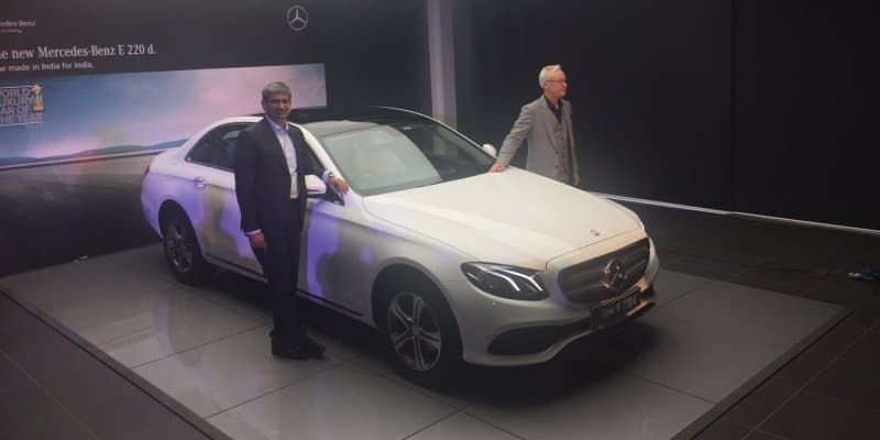 Mercedes-Benz E220d launched at Rs 57.14 lakh