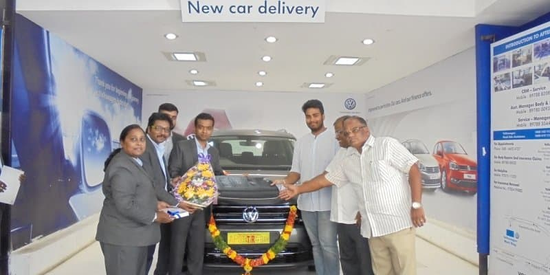 First Volkswagen Tiguan SUV delivered in India