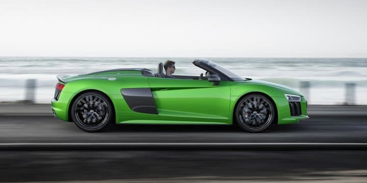 All-new Audi R8 V10 Plus Spyder with 610 PS unveiled