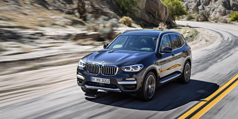 New-Generation BMW X3 Unveiled; Sales start in November 2017