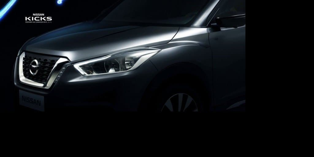 Nissan Kicks front fascia teased ahead of May 2 debut