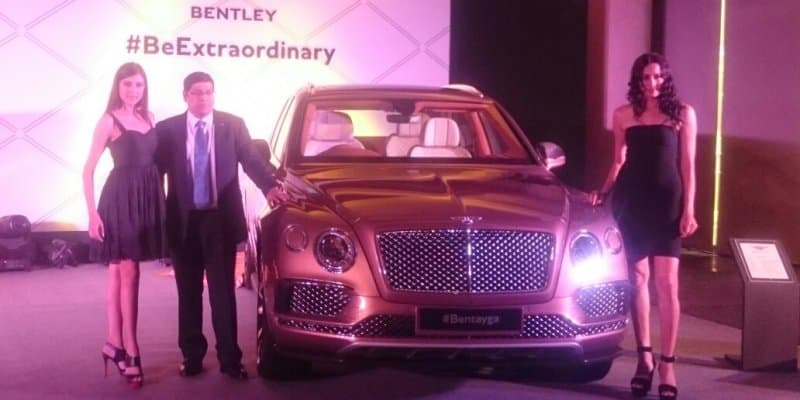 Bentley Bentayga launched at Rs 3.85 crore