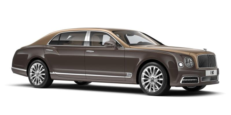 Bentley Mulsanne First Edition Revealed