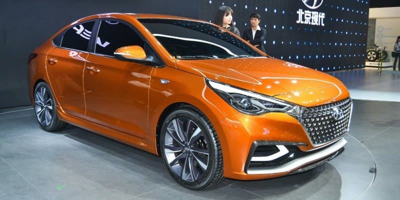 2017 India-bound Hyundai Verna Concept revealed in Beijing