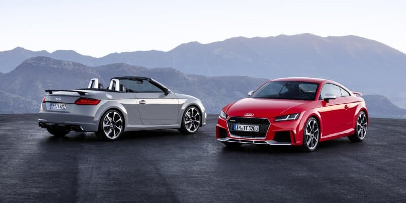 All-New Audi TT RS Unveiled