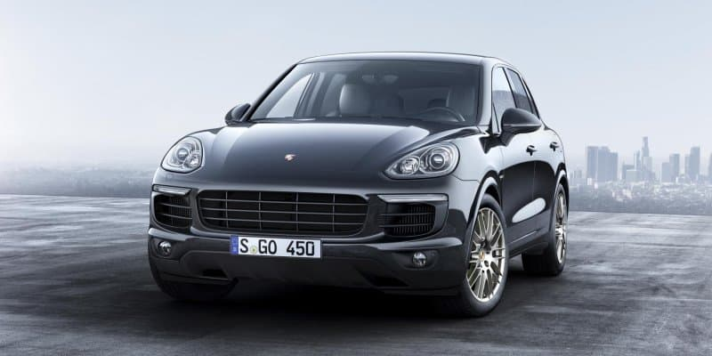 Porsche Cayenne Platinum Edition Revealed; Launching Soon