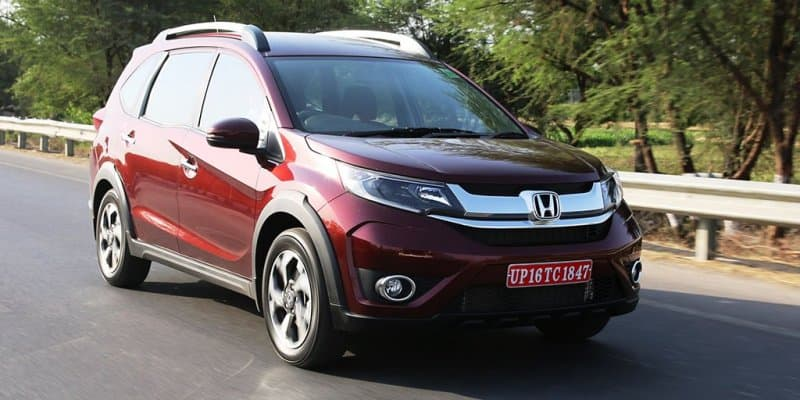 Honda BR-V to launch in India Tomorrow