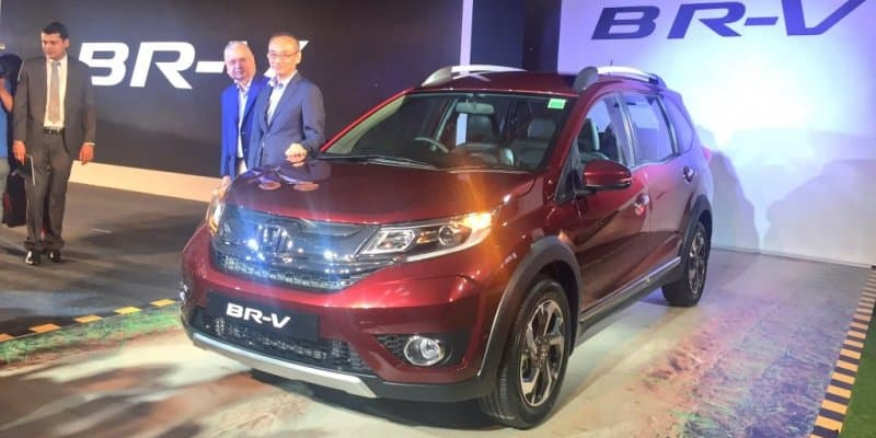 Honda BR-V launched at Rs 8.75 lakh