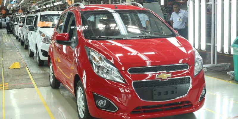 Made-in-India Chevrolet Beat to be Exported to Argentina
