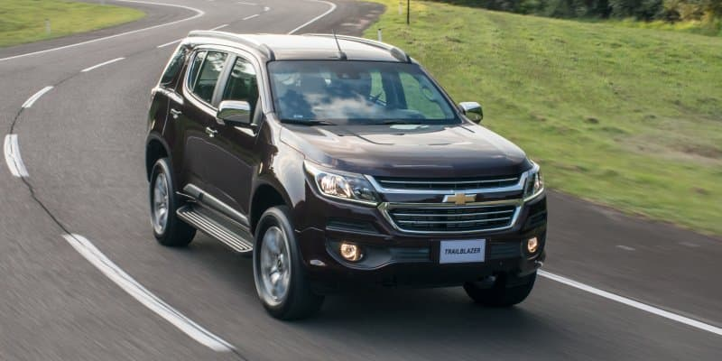 Chevrolet Trailblazer Facelift unveiled in Brazil