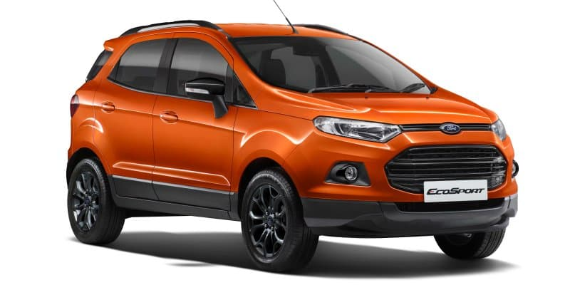 Ford EcoSport Black Edition Launched at Rs. 8.58 Lakhs