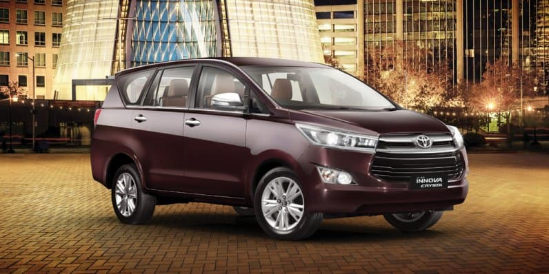 Toyota Innova Crysta Gets 15,000 Bookings