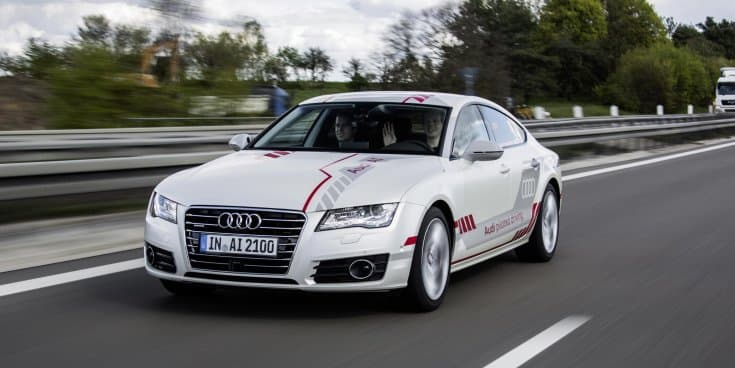 Piloted Audi A7 Sportsback 'Jack' shows social competence