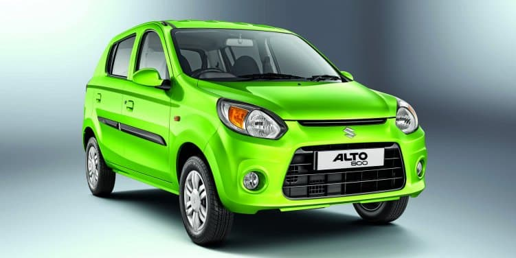 Maruti Suzuki Alto 800 Facelift Launched at Rs 2.49 lakh