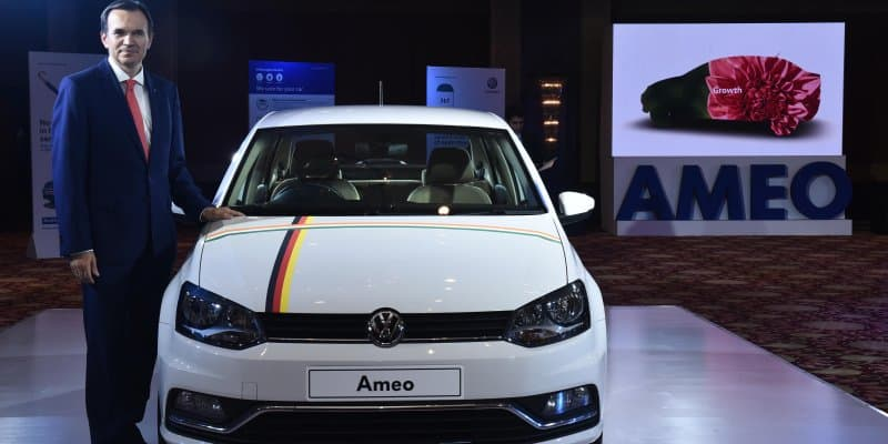Volkswagen launches mobile app for Ameo