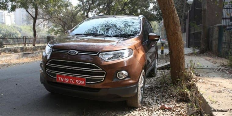 Ford announces recall of 48,700 EcoSport in India
