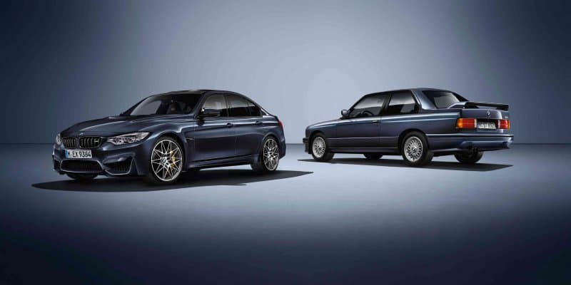 "BMW M3 ""30 Years M3"" Limited Edition Revealed"