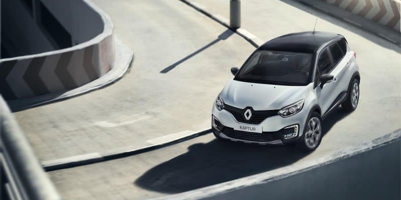 Renault Kaptur Imported in India for Testing