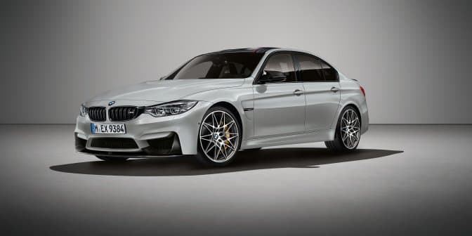 BMW celebrates M3's 30th anniversary with launch of M3 30 Jahre Limited Edition