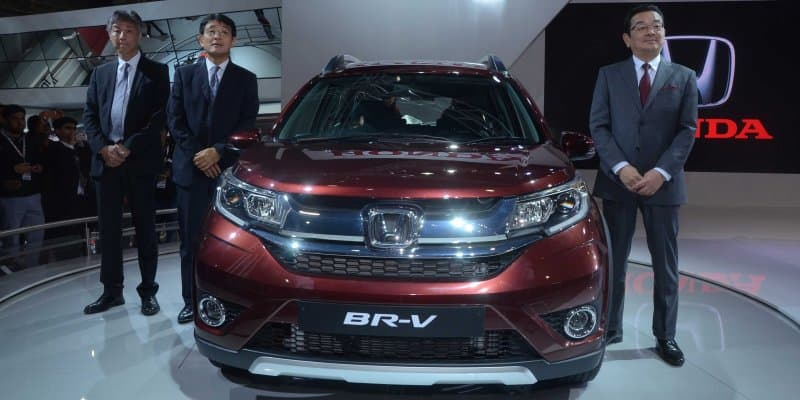 Honda BR-V Clocks 9000 Bookings