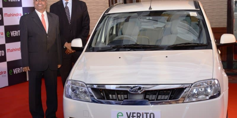 Mahindra eVerito Launched at Rs. 9.50 Lakhs
