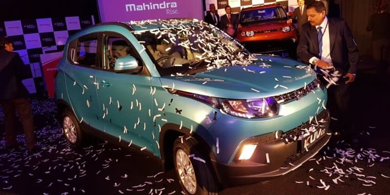 Mahindra launches KUV100 in South Africa
