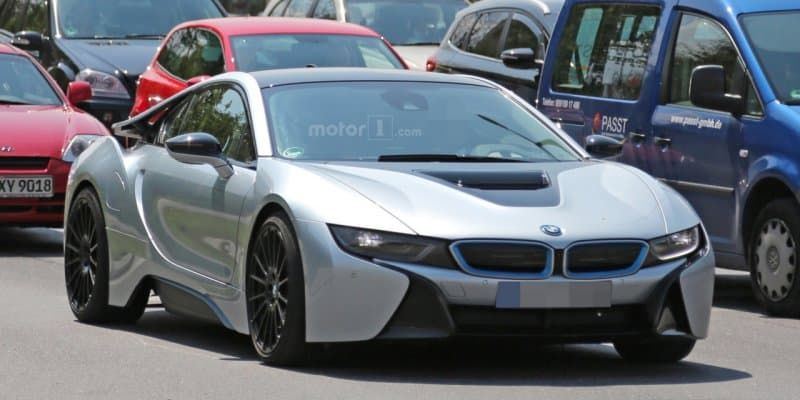 More Powerful BMW i8 Spied