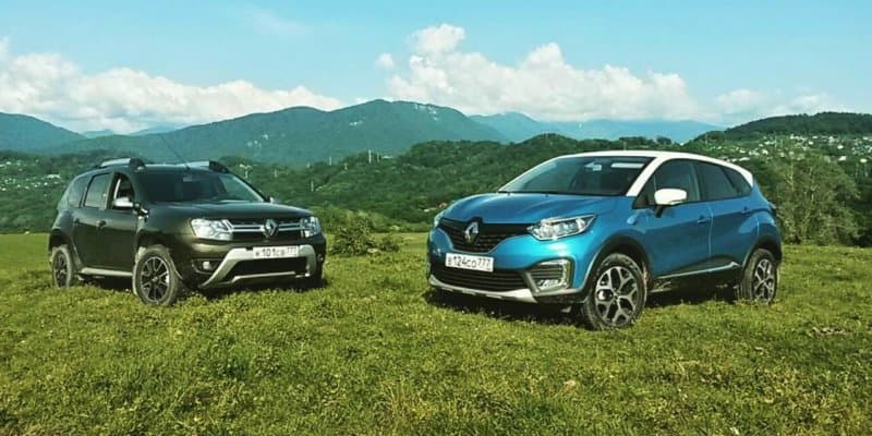 Renault Kaptur Spotted in Flesh with Duster