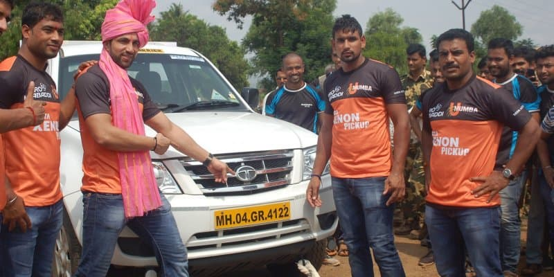 Tata Xenon is Official Transport Partner for U-Mumba in Pro Kabaddi League