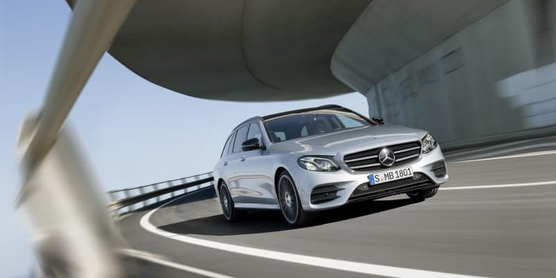 2017 Mercedes-Benz E Class Estate Revealed
