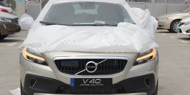 2016 Volvo V40 Cross Country Spotted