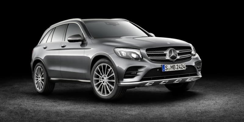Mercedes-Benz GLC Fuel-cell to be Unveiled in 2017