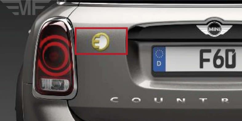 Leaked - MINI Countryman E plug-in hybrid