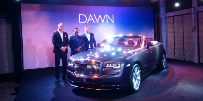 Rolls Royce Dawn Launch in India at Rs 6.25 crore