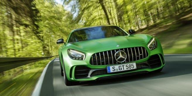 Video - 577 HP Mercedes-AMG GT R introduced by Lewis Hamilton