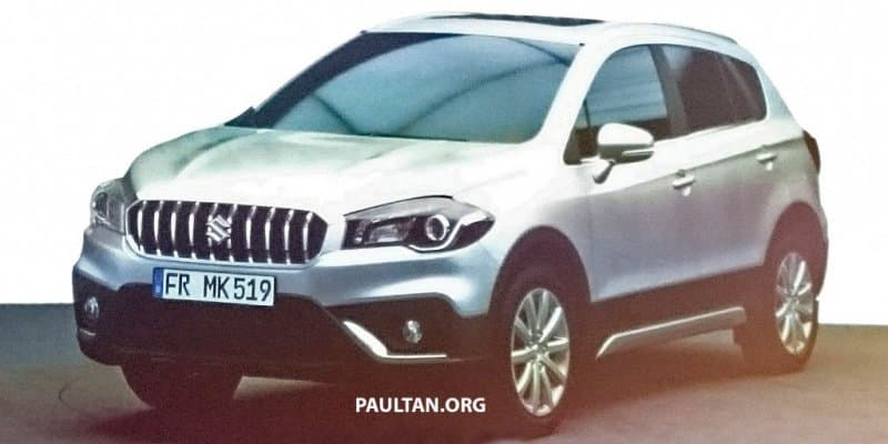 Suzuki S-Cross likely to make debut at 2016 Paris Motor Show