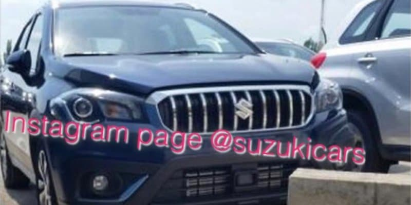 Next-Gen Suzuki S-Cross closely spied
