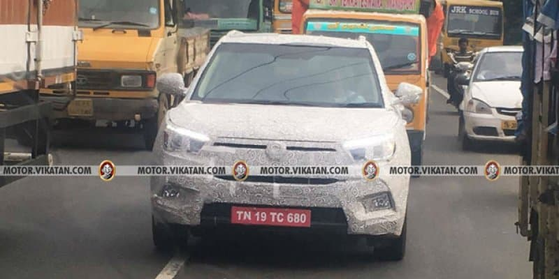 Mahindra SsangYong Tivoli Spied Testing in India