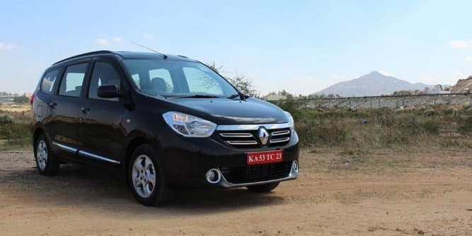 Renault Lodgy 85PS gets a price cut up to Rs 97,000
