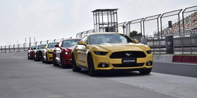 Ford Mustang Launched at Rs. 65 Lakhs in India