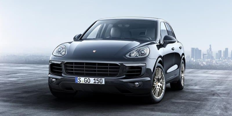 Porsche Cayenne Platinum Edition Launched at Rs. 1.06 Crores