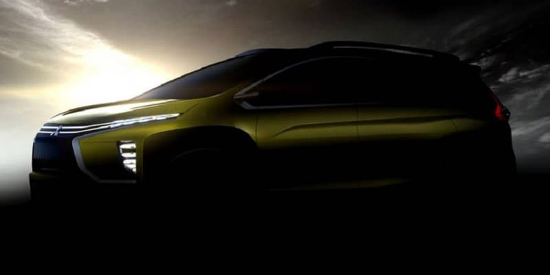 Mitsubishi's new MPV concept teased ahead of GIIAS Unveil